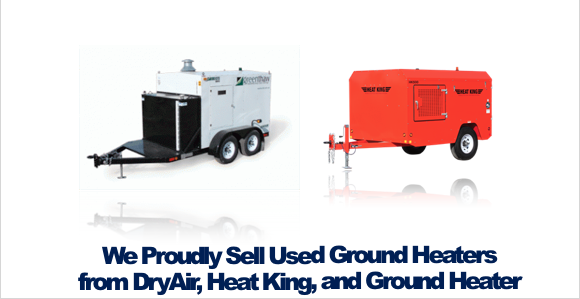 Buy Used Ground Heaters DryAir Heat King Rochester NY Ithaca NY