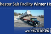 Rochester NY Rock Salt & Bagged Deicer Facility Opens at 5 a.m.
