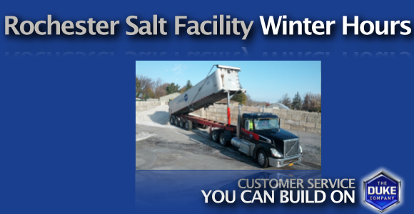 Picture of Rochester Salt Facility Hours