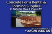 Safety Information for Renting Concrete Forms by Symons