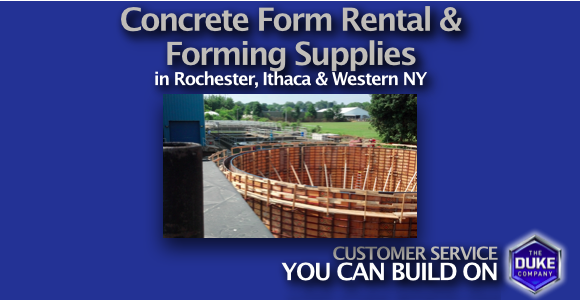 Concrete Form Rental and Concrete Forming Supplies in W. NY ...
