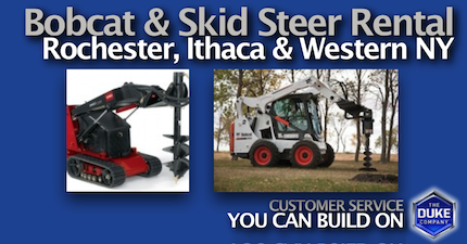Picture of Bobcat and Skid Steer Rental in Rochester and Ithaca NY