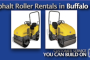 Asphalt Roller Rentals in Buffalo and Western NY