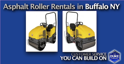 Picture of Asphalt Roller Rentals in Buffalo and Western NY