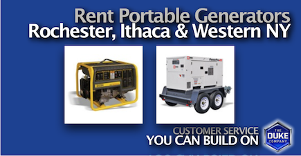 Picture of Rent Portable Generators in Rochester NY and Ithaca NY