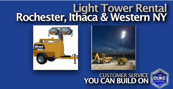 Light Tower Rental in Rochester NY and Ithaca NY