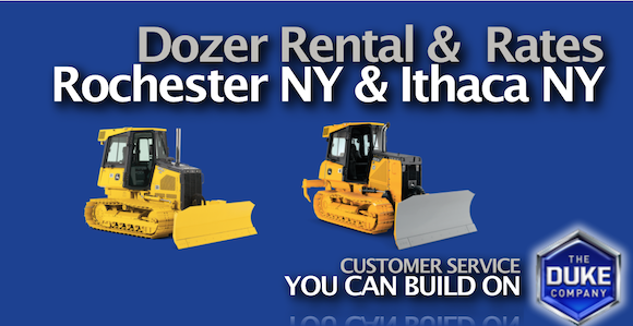 Picture of Dozer Rental and Rental Rates in Rochester NY and Ithaca NY