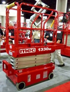 13 Foot Scissor Lift Rental