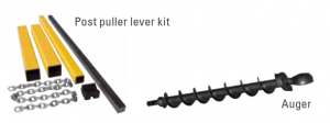 Atlas Copco Post puller lever kit and Auger
